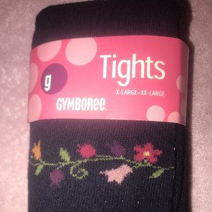 NWT Apple for the teacher tights gymboree 5 7 6